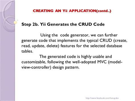 yii remove layout yii php framework honey