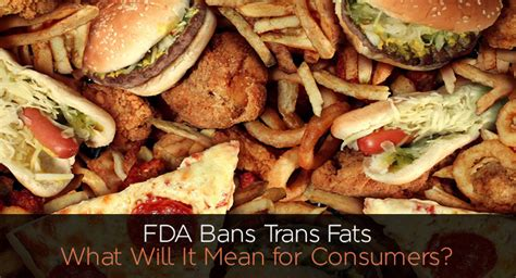 California Bans Transfat by Fda Bans Trans Fats What Will It For Consumers