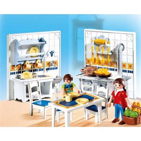 cuisine playmobil playmobil 5317 famille et cuisine traditionnelle achat