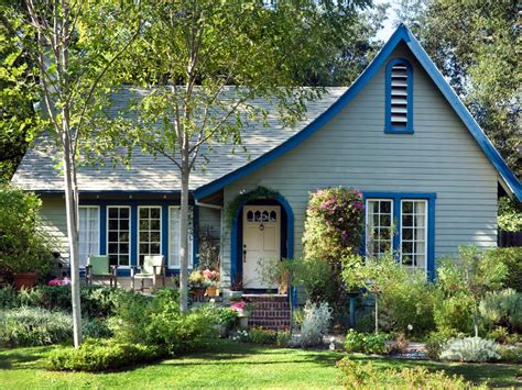 Blue Cottage by 26 Popular Architectural Home Styles Home Exterior