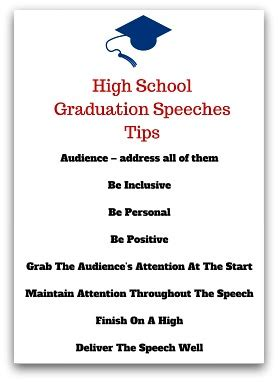 8 Tips On Friends In High School by High School Graduation Speeches Tips Pinteres