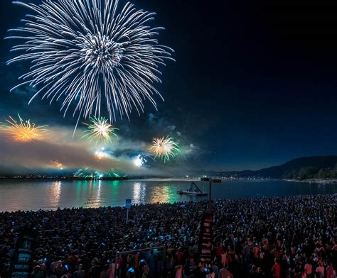 26th celebration of light held in vancouver canada vancouver fireworks 2016 lineup dates revealed bored
