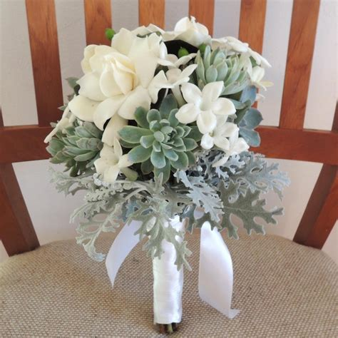 gardenia flower delivery succulent bouquet with gardenias
