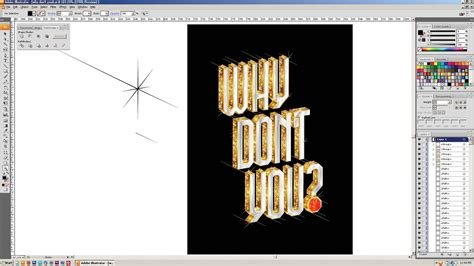 illustrator tutorial gold adobe illustrator tutorial create gold 3d type encrusted