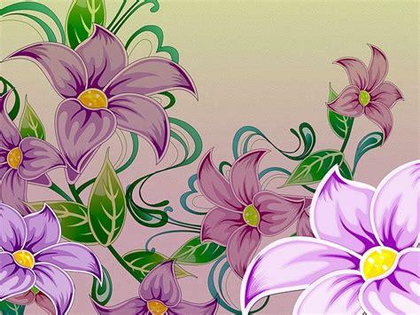floral pattern artwork art purple flowers hand drawn floral illustration 28