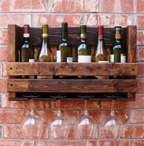 under cabinet wine bottle and glass rack wine glass rack hanging wall mounted lustwithalaugh