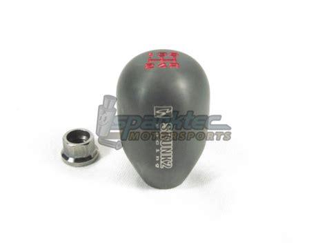 skunk2 racing billet weighted shift knob titanium 10x1 5mm