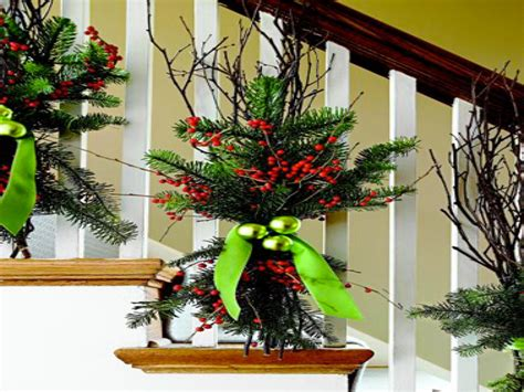 banister decorating ideas front porch christmas decorations christmas banister