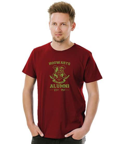 T Shirt Kaos Hogwarts Alumni socratees harry potter hogwarts alumni t shirt maroon buy socratees harry potter hogwarts