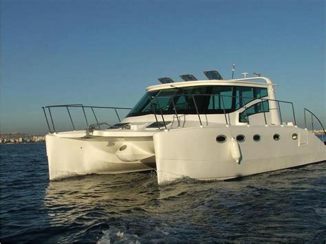 electric catamaran cruiser prowler 330 cruiser in valencia power catamarans used