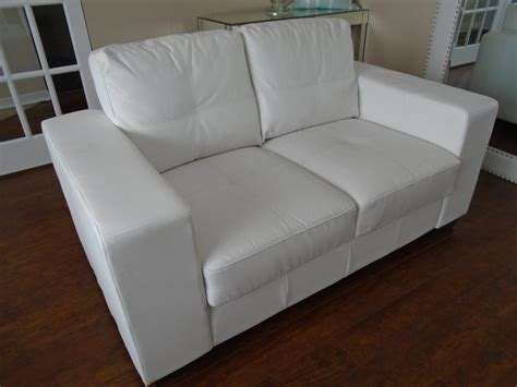 pellissima leather couch gorgeous white quot pellissima leather quot loveseat can