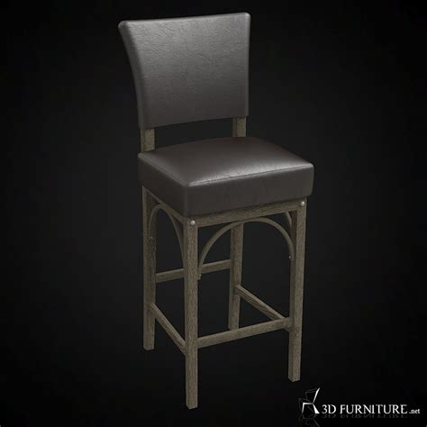 Restoration Hardware Bar Stool Review by 3d Restoration Hardware Barstool High Quality 3d Models