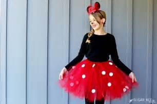 Good And Easy Halloween Costume Ideas Diy Minnie Mouse Costume Yep No Sew Sugar Bee Crafts