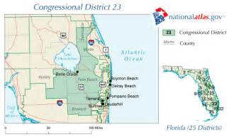 us representative florida map glade florida congressional district and us