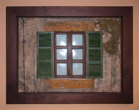 persiana para ventana ventana con persiana cuadros en relieve