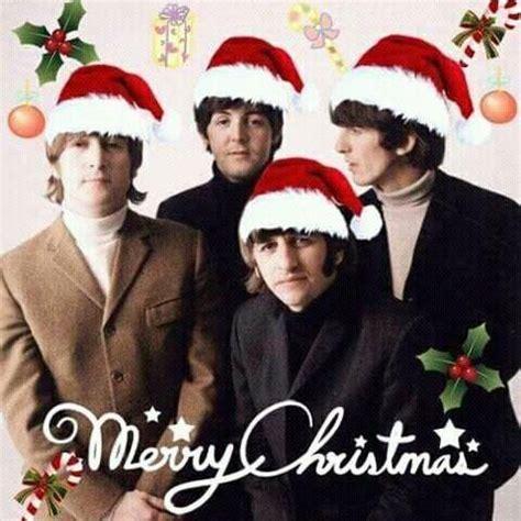 merry christmas  happy  year   beatles  sweet george  beatles john