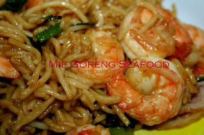 22 Resep Aneka Seafood mie goreng seafood resep masakan dan minuman