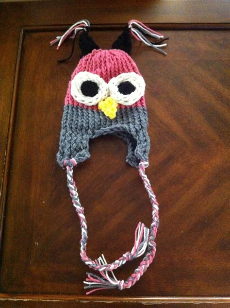 loom knit owl hat 17 best images about loom knitting on knitting