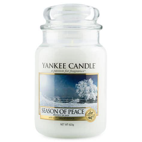 candele profumate yankee candle yankee candle season of peace jar candles candela