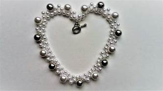Pearl Handmade Jewelry - diy easy pearl necklace handmade jewelry