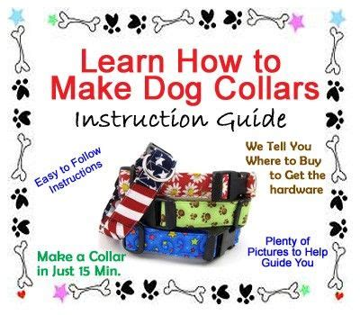 picking pattern for you ll think of me how to make a dog collar pdf sewing pattern you ll