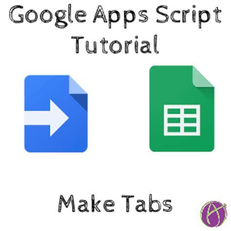 google form script tutorial google apps script create new tabs teacher tech