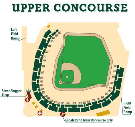safeco field section map where to eat at safeco field upper concourse seattle