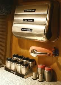 vintage airstream interior quot kitchen ascessories quot a photo