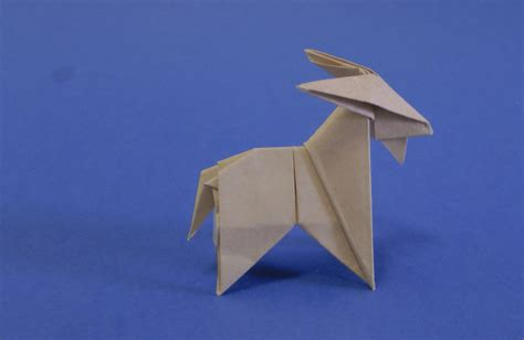 Goat Origami - origami goat 28 images how to make an origami goat