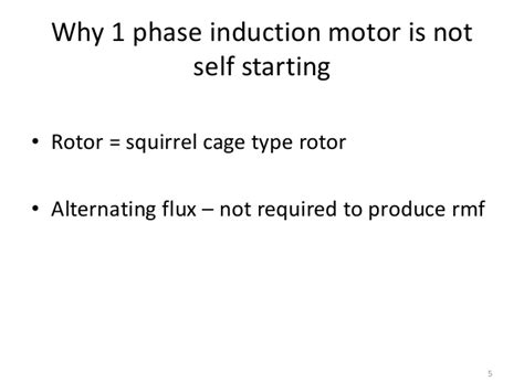 induction motor is not self starting induction motor is self starting 28 images induction motor about the single phase induction