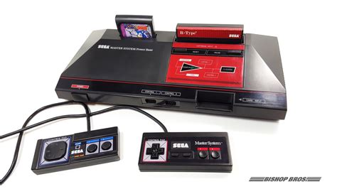 master console sega master system gear console