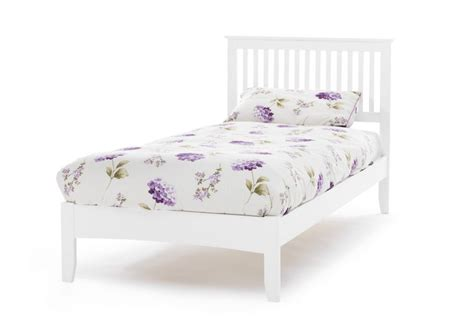 Cheap White Single Bed Frame Painted Beds Serene Freya Wooden Bed Frame Click 4 Beds