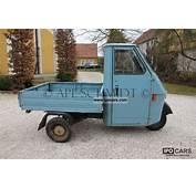 1985 Piaggio Ape 50 TL3T  Car Photo And Specs