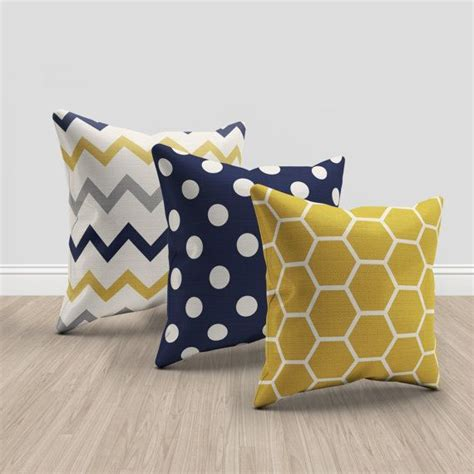 Yellow Pillows For Sofa Best 25 Yellow Throw Pillows Ideas On