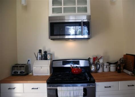 over the range microwave without on embracing my home design limitations the happiest home