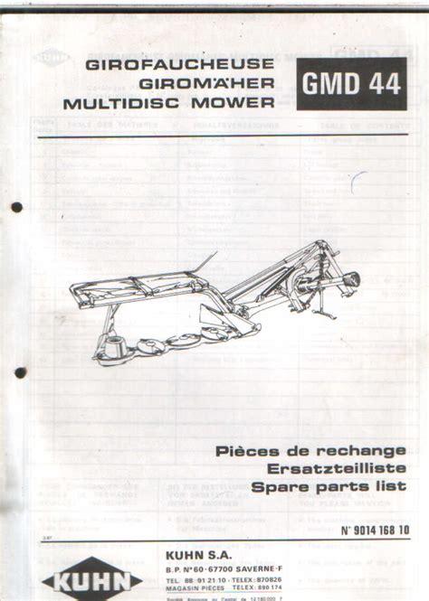 kuhn mower parts diagram kuhn gmd 600 parts diagram husqvarna k760 parts diagram
