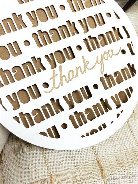 thank you card template cricut thank you card made with cricut 100directions