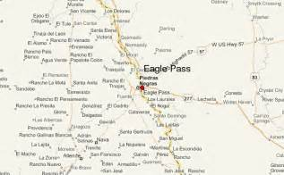 where is eagle pass texas on a map eagle pass location guide