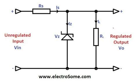 zener diode current transformer how to convert a c supply into d c supply