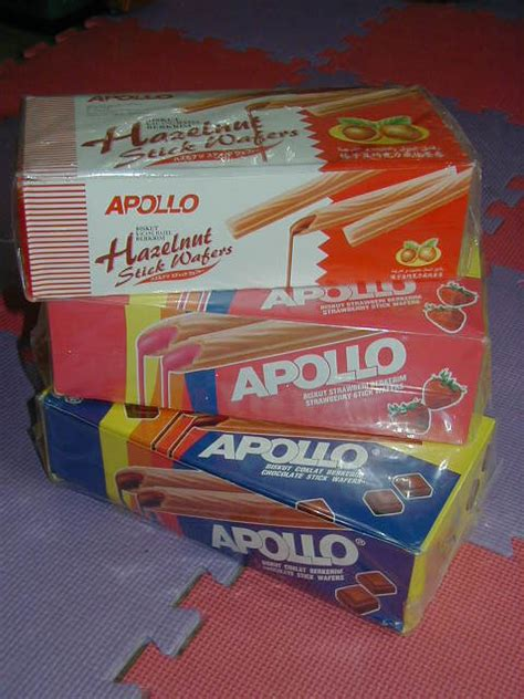 Apollo Wafer Per 4 Pack by Anirtakael Apollo Wafer Sticks