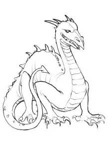 dragon coloring pages coloringpages1001