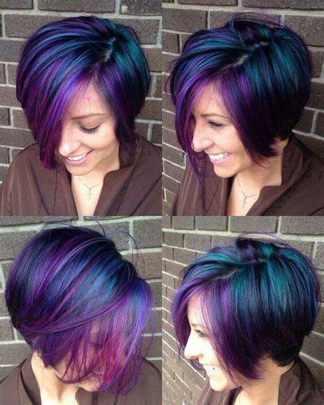 funky hair color ideas for older women 25 best ideas about peacock hair color on pinterest