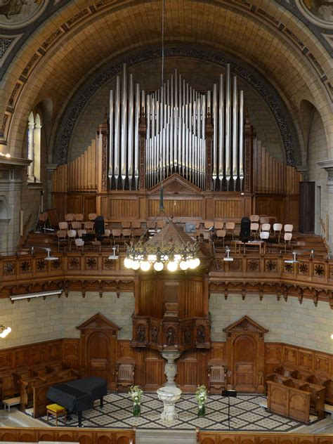 wann wurde die erste orgel gebaut portal kirchgemeinden z 252 rich