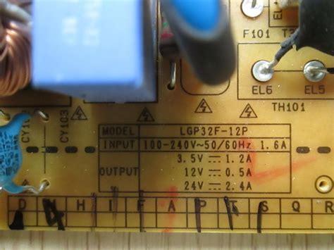 Psu Lg Eax64560501 Code 6735 lg 32lm3400 psu eax64560501 1 7 rev1 1 lgp32f 12p