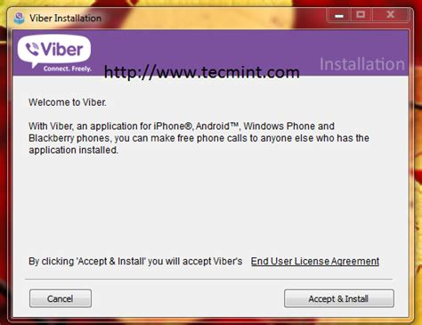 format video viber install viber in linux