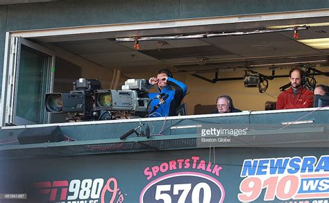 color commentator nesn color commentator jerry remy was at work in the booth
