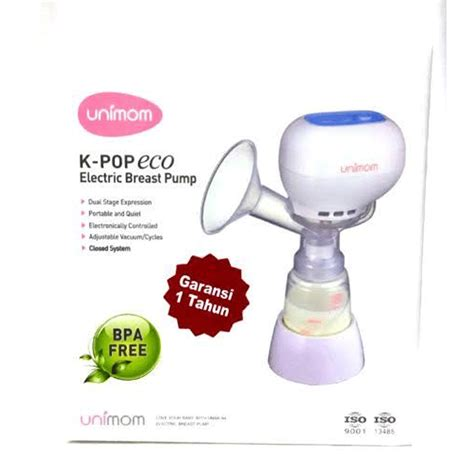 Unimom Breastpump Electric unimom k pop electric breast free 6 pcs kantong asi plus 2 pcs breast pad best buy
