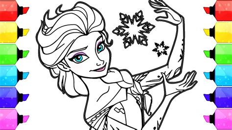 elsa coloring book elsa frozen disney coloring book pages how to draw and