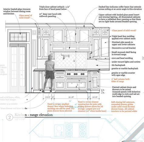 sle kitchen floor plan shop drawings pinterest 41 best images about interior elevations on pinterest