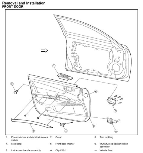 service manual how to remove door trimford 2006 how to remove 2002 nissan maxima exterior molding sunroof service manual how to remove 2006